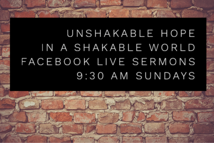 Unshakable Hope In a Shakable World: The Promise of Peace